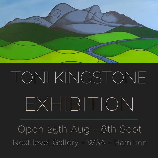 Artspost Toni Kingstone Exhibition August-September 2017