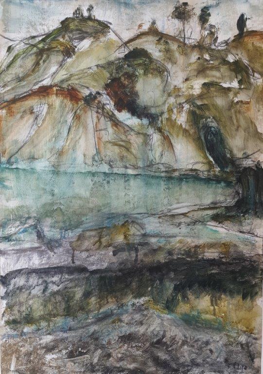 Elsa Lye, Raglan en pleine air painting