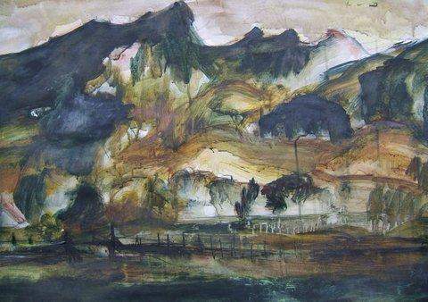 Painting by Elsa Lye
